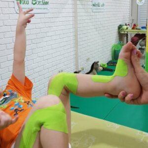 Кинезиотепирование детей фото