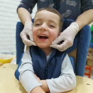 Логопедический массаж для детей фото